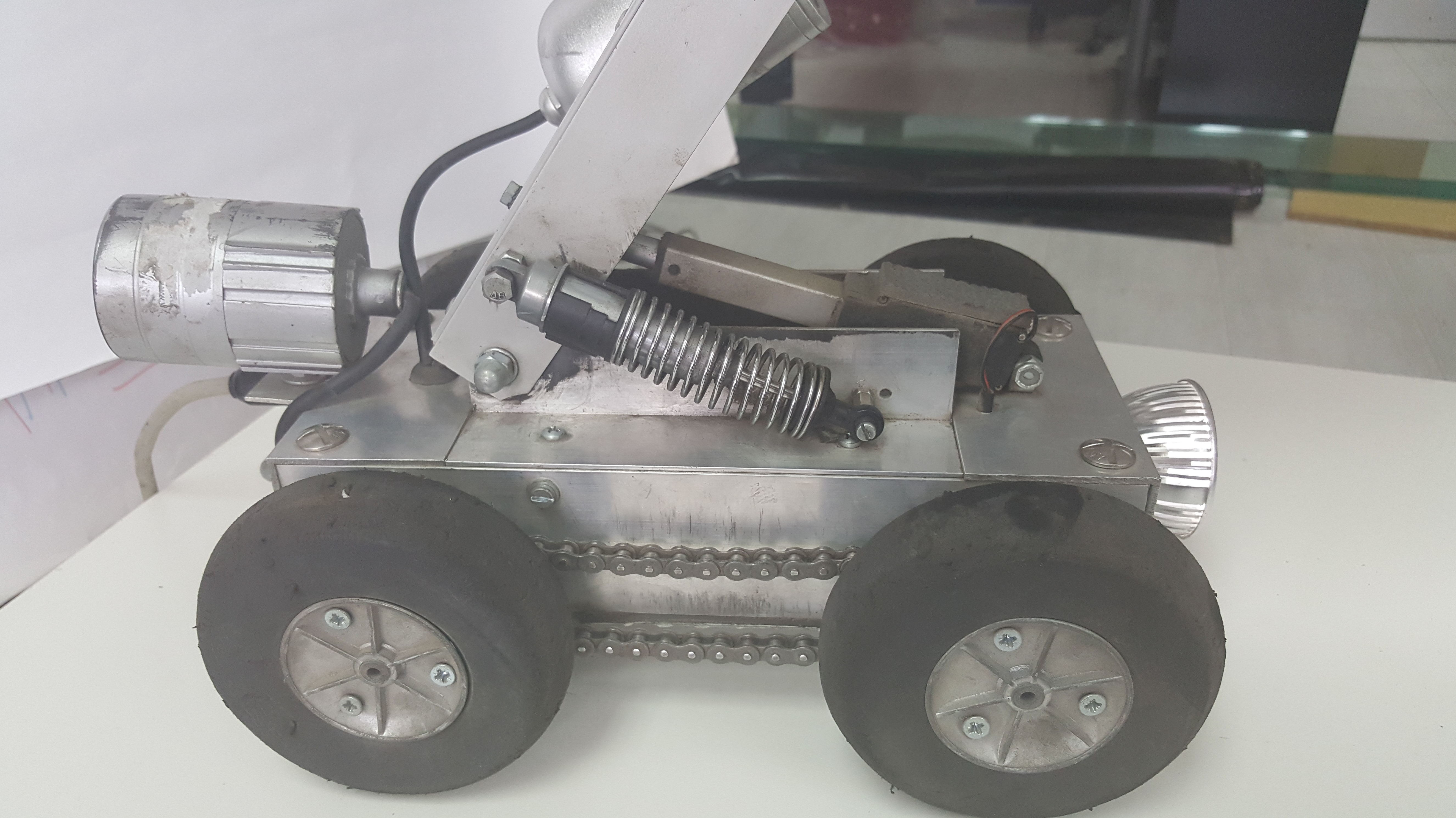 Inspección de conductos robotizada