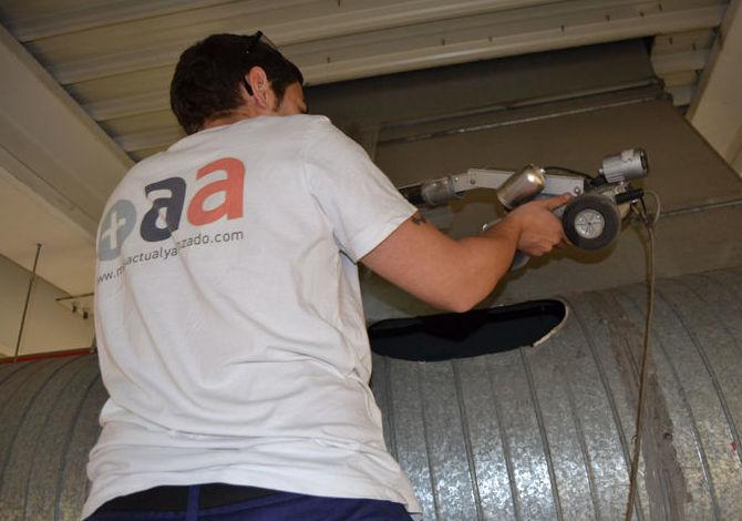 Inspección y limpieza de conductos de climatización con robots en toda España