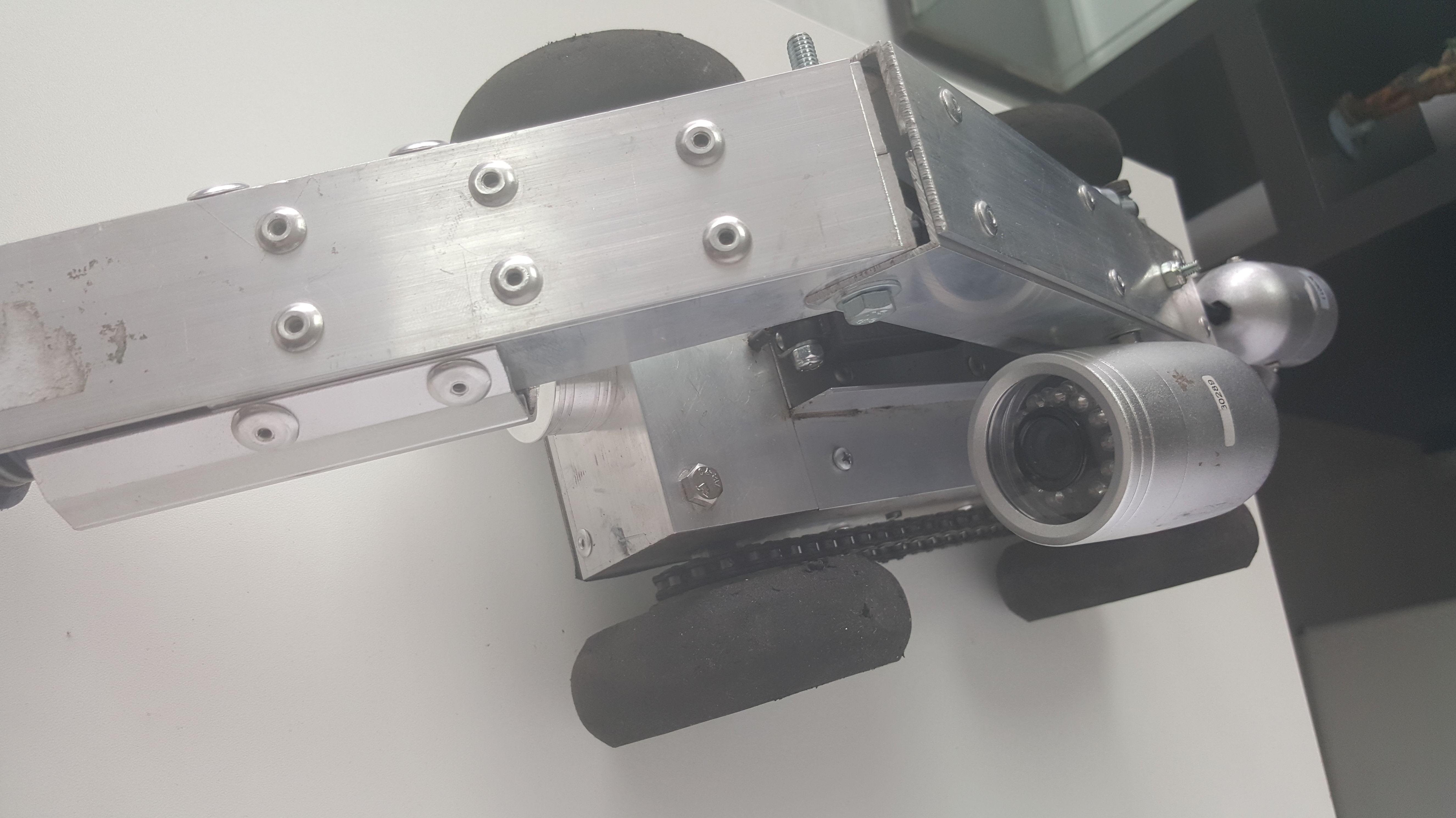 Limpieza robotizada de aire acondicionado