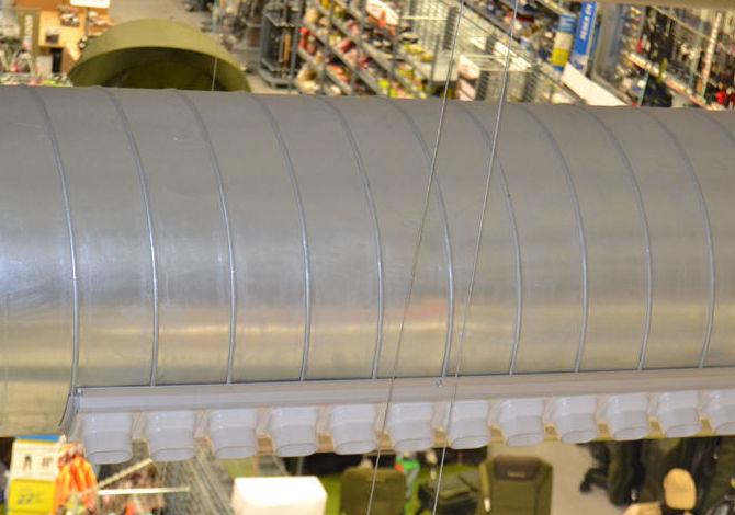 Limpieza de conductos de climatización con robots