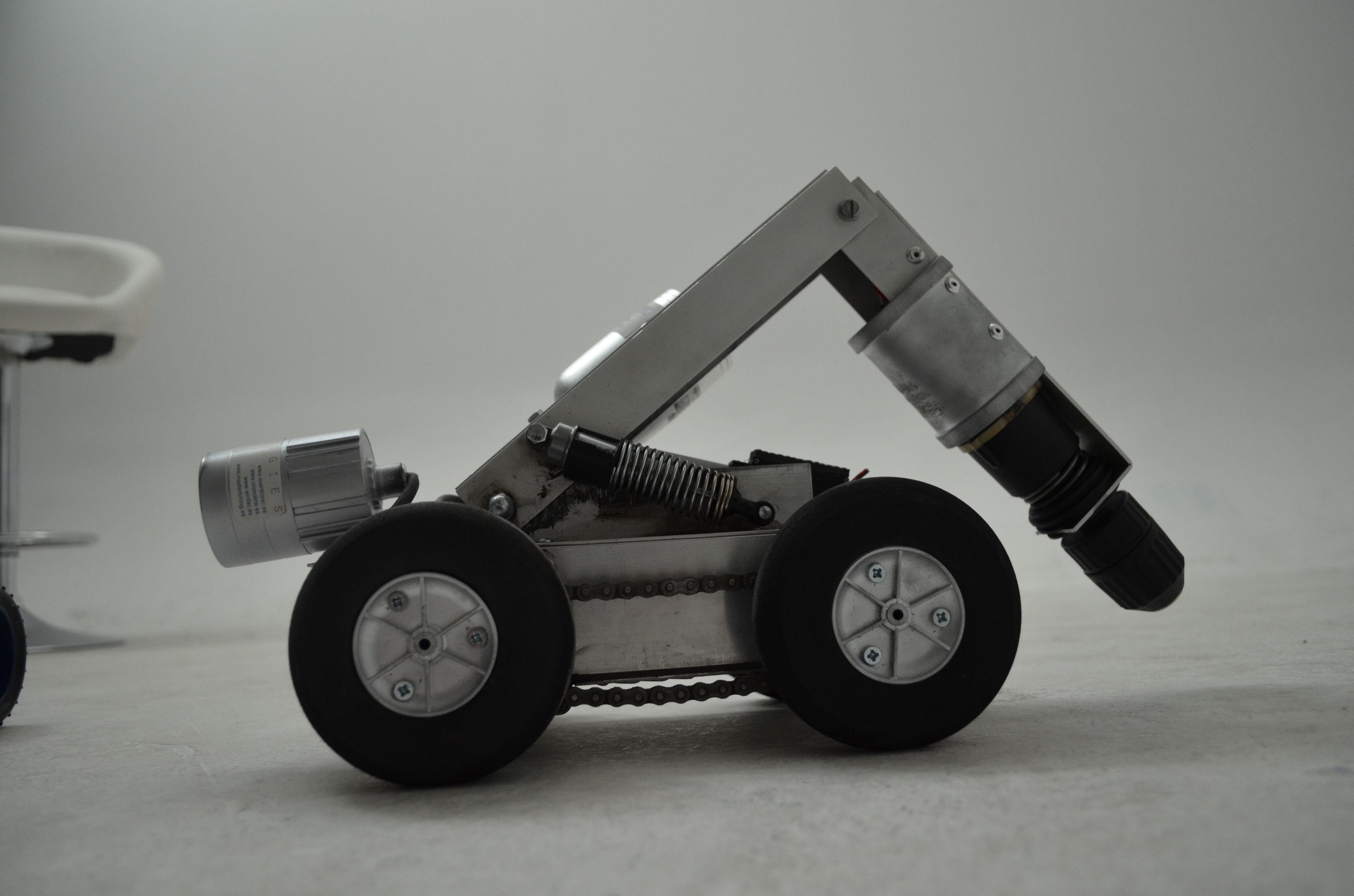Robot de inspección de conductos