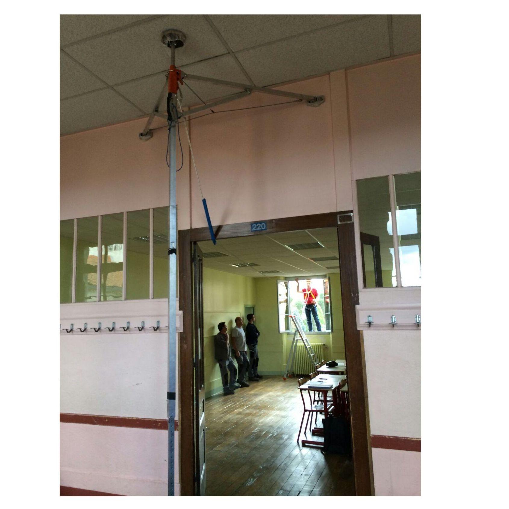 El SYAM: ¡No ejerce presión en el techo!