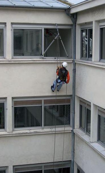 Trabajos verticales con anclajes temporales UNE EN 795:2012 y TS 16415:2013