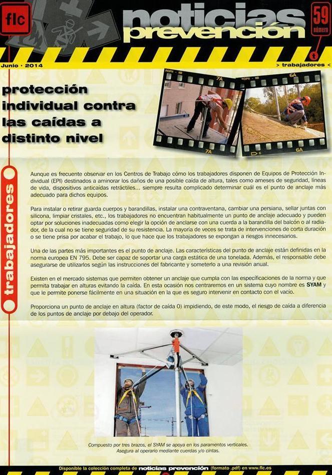 Noticias de Prevención FLC. 01