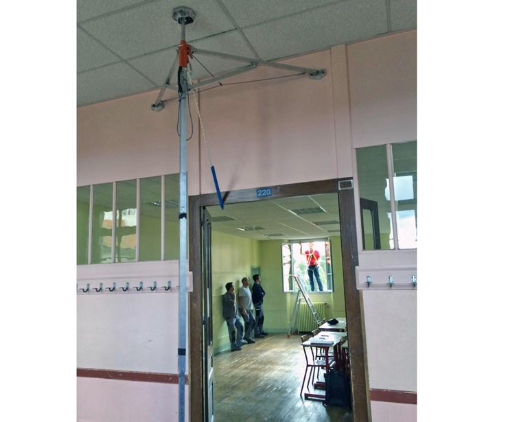 Instalación de carpintería metálica
