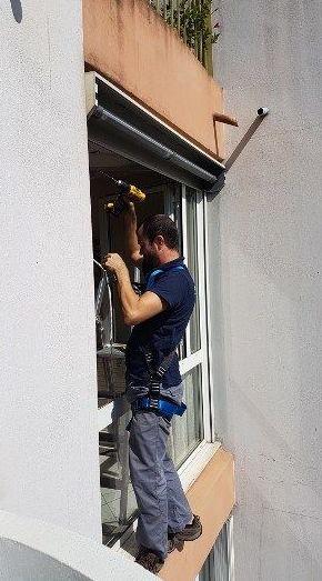 Sellado de ventanas con sistema SYAM