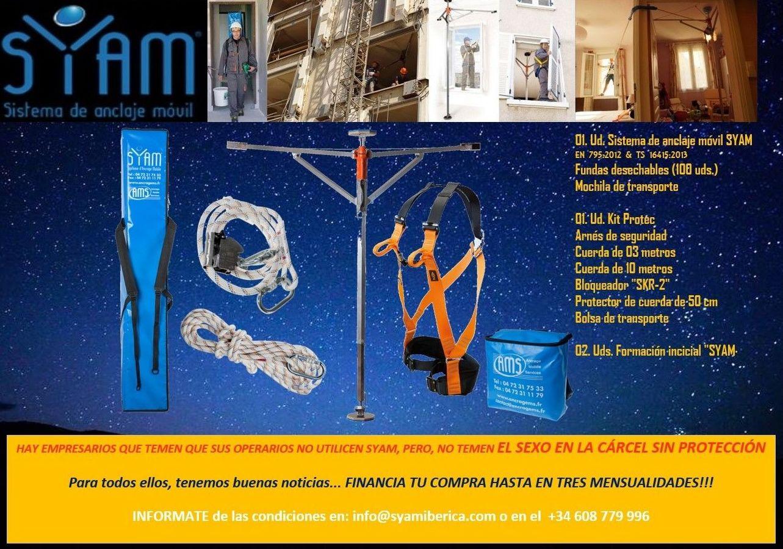 Paga hasta en mensualidades tu SYAM. www.syamiberica.com