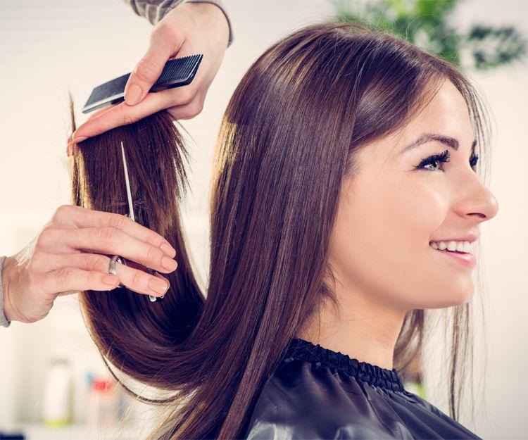Alisado y corte de pelo