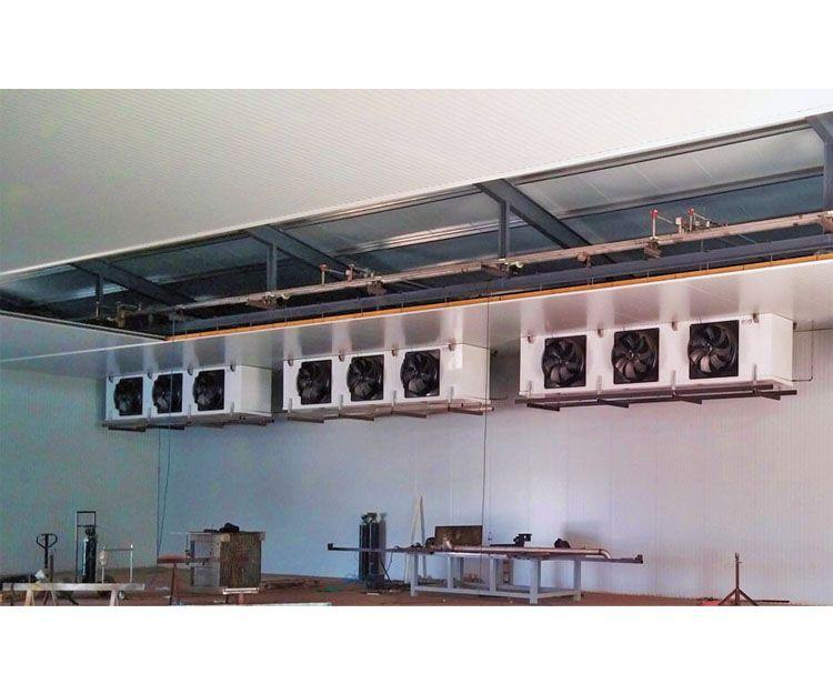 Instalación de refrigeración en locales