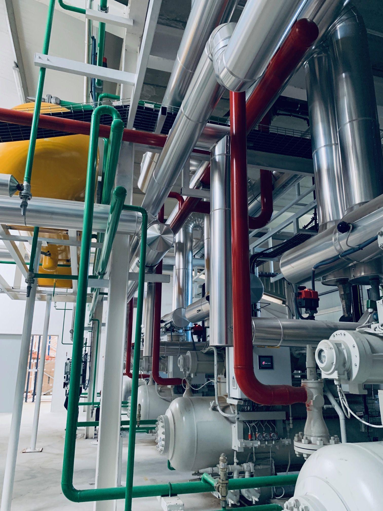 Instalaciones salas de maquinas de  baja temperatura