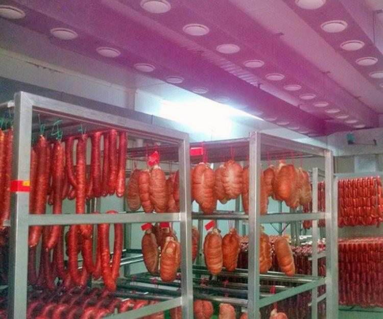 Refrigeración para productos cárnicos