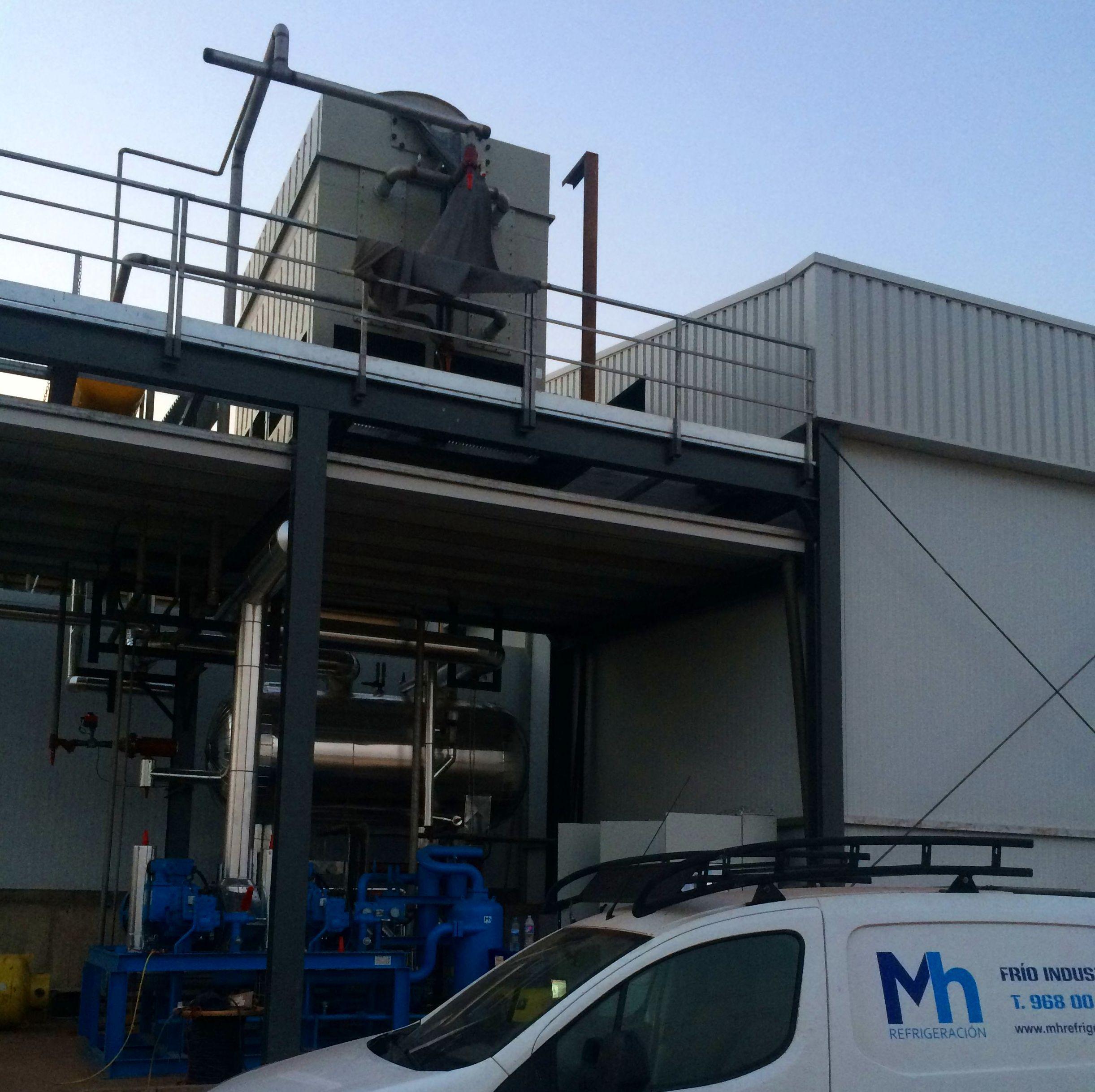 instalaciones de amoniaco