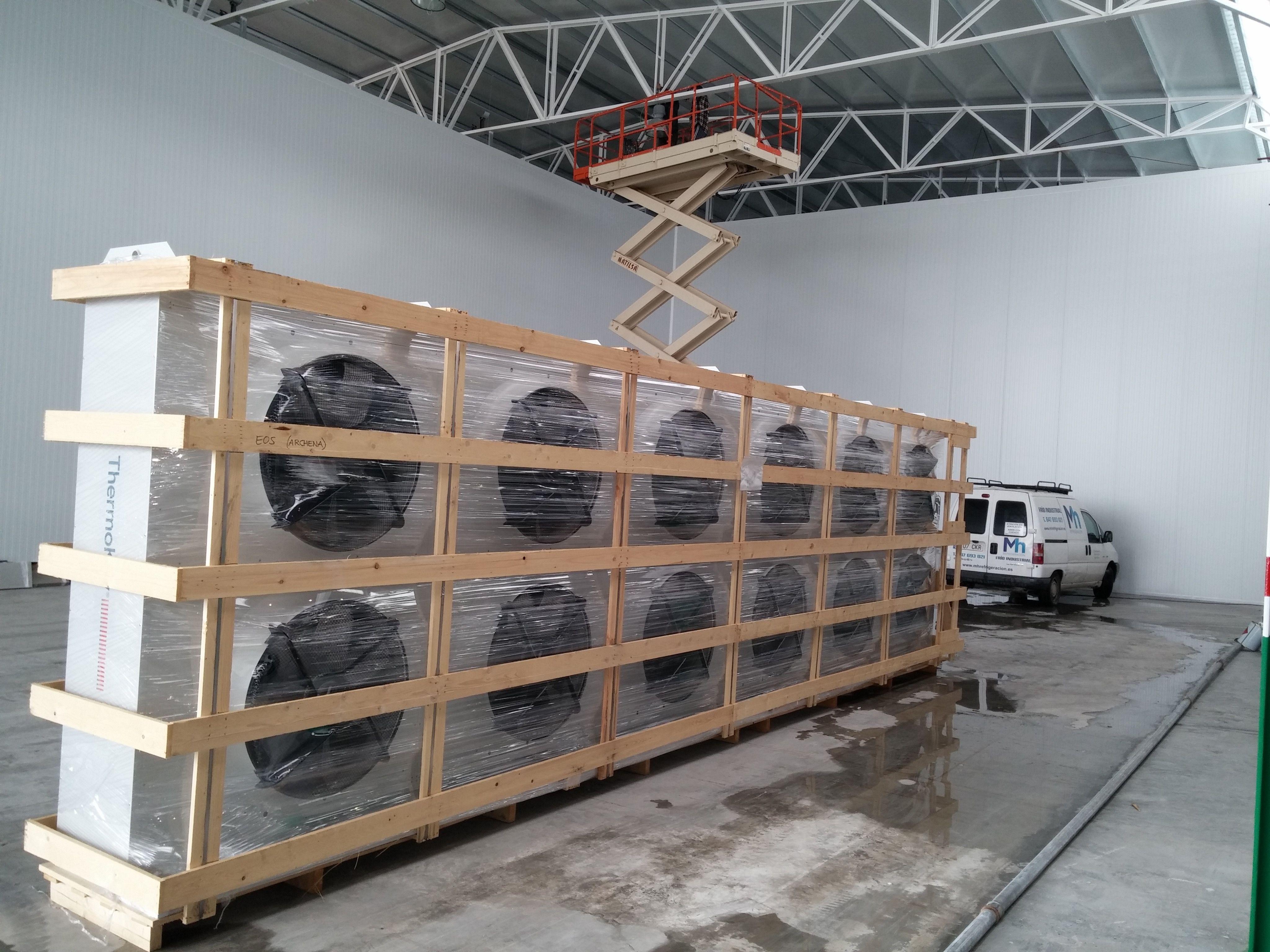 Proveedores: Productos y servicios de MH Refrigeración
