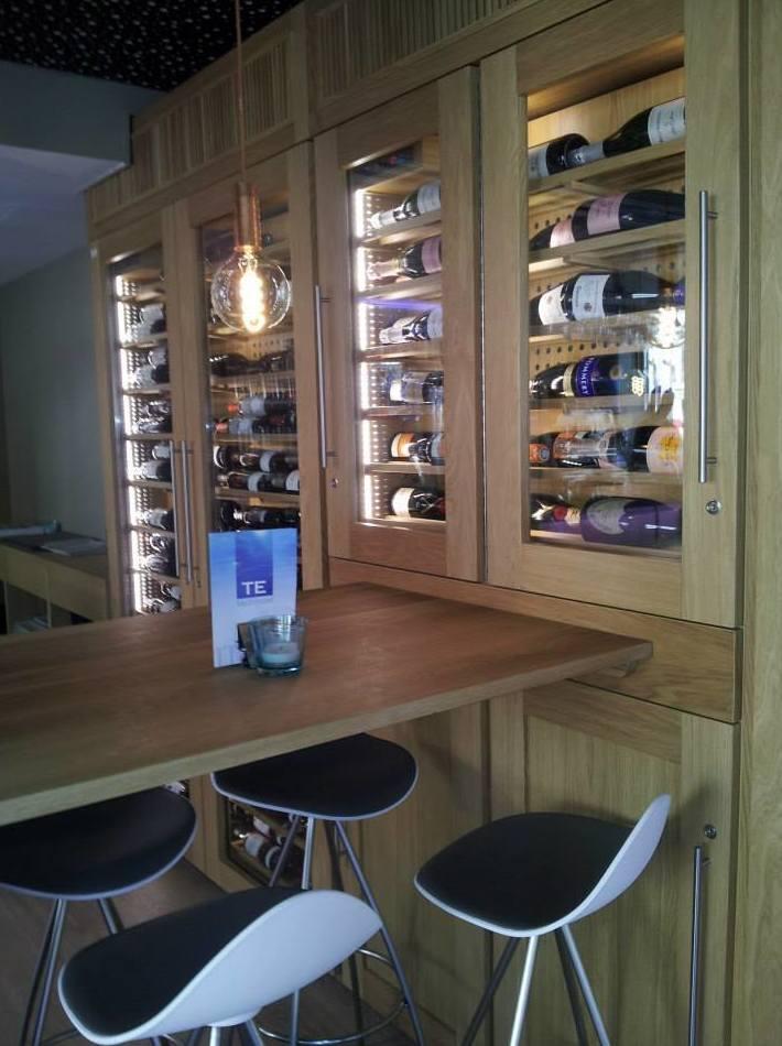 Bodega de vinos climatizada