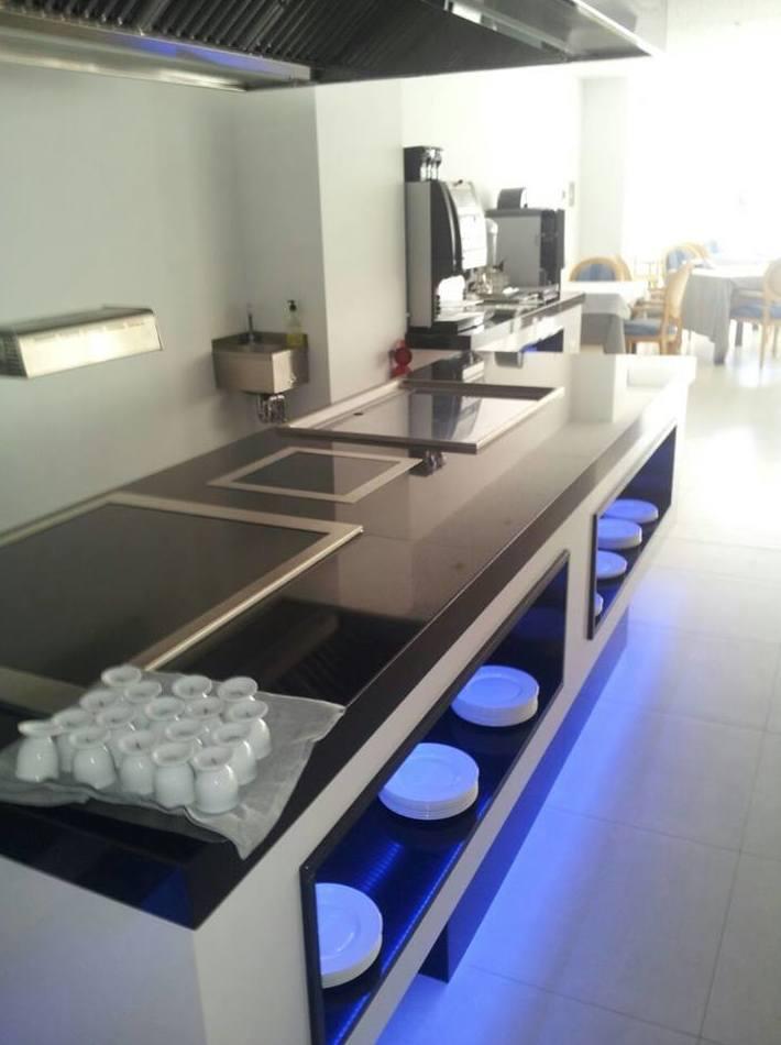 Buffet fabricado e instalado por J. A. Refrigeración