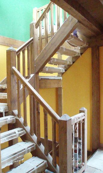 escaleras de madera Vitoria