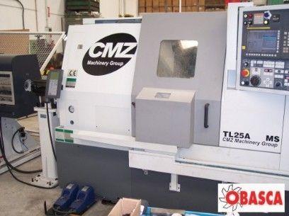 Torno CMZ TL-25 AMS: Servicios de Obasca
