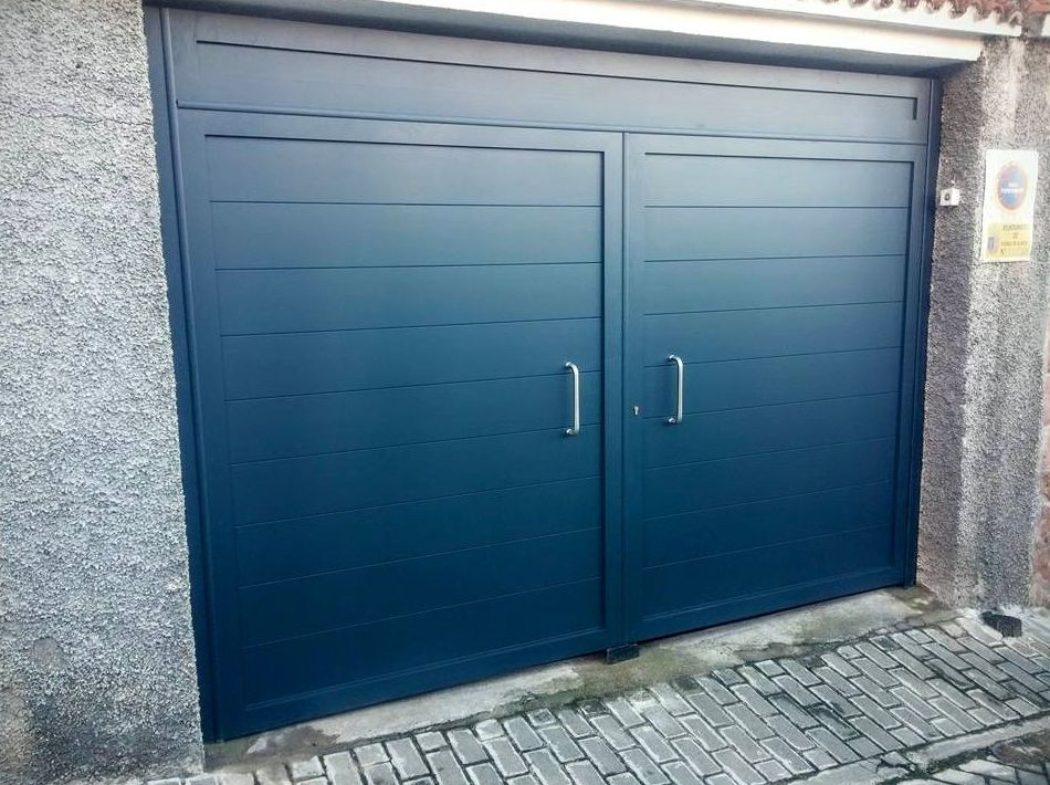 Puertas metálicas para viviendas
