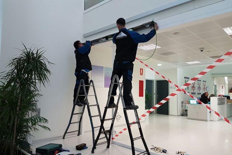 Instalación de controles de acceso en Madrid