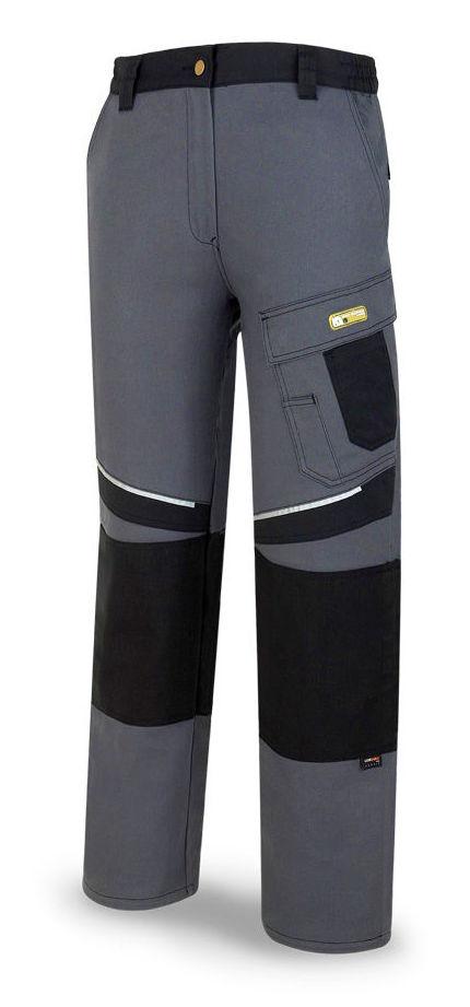 Pantalón tergal de color gris/negro.: Catálogo de Frade Ropa de Trabajo