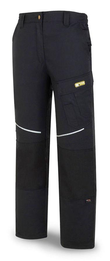Pantalón tergal de color negro.: Catálogo de Frade Ropa de Trabajo