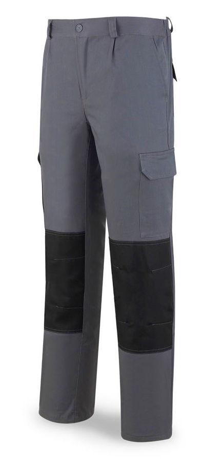 Pantalón elástico de algodón y elastano. Color Gris.: Catálogo de Frade Ropa de Trabajo
