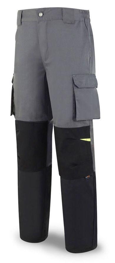 Pantalón tergal de color gris oscuro/negro.: Catálogo de Frade Ropa de Trabajo