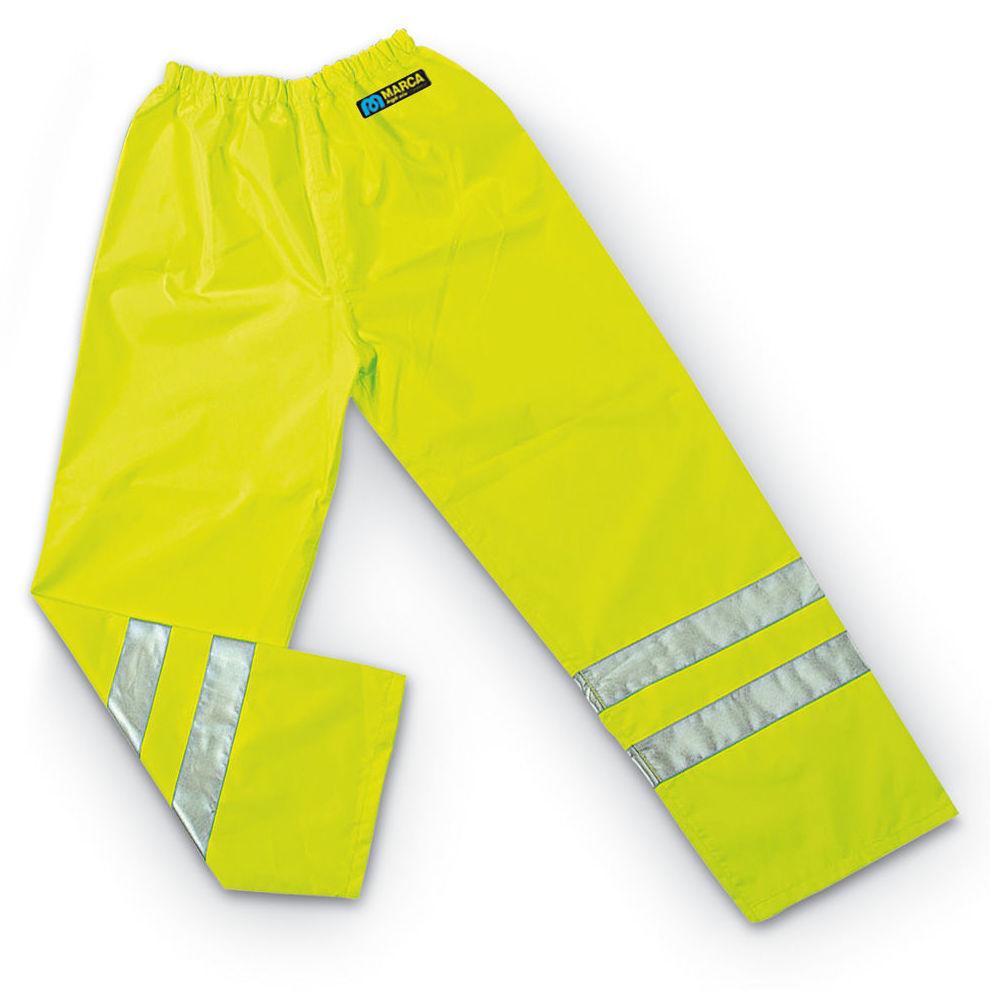 Pantalón AQUA FLUO. Color Amarillo: Catálogo de Frade Ropa de Trabajo