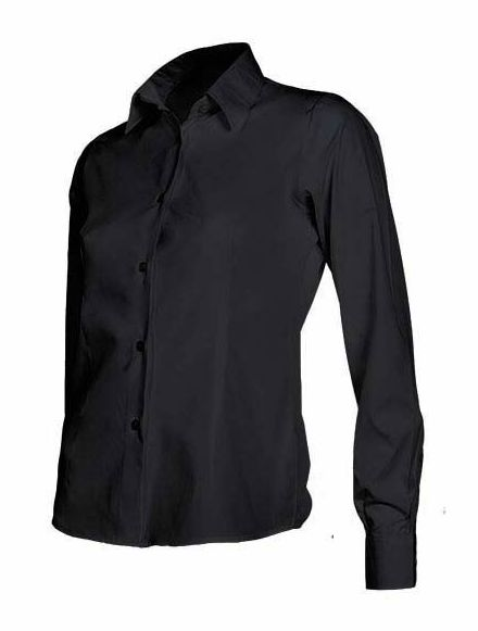 Camisa entallada manga larga mujer: Catálogo de Frade Ropa de Trabajo