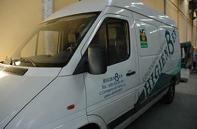 Transporte: Servicios de Higiensec Zamora