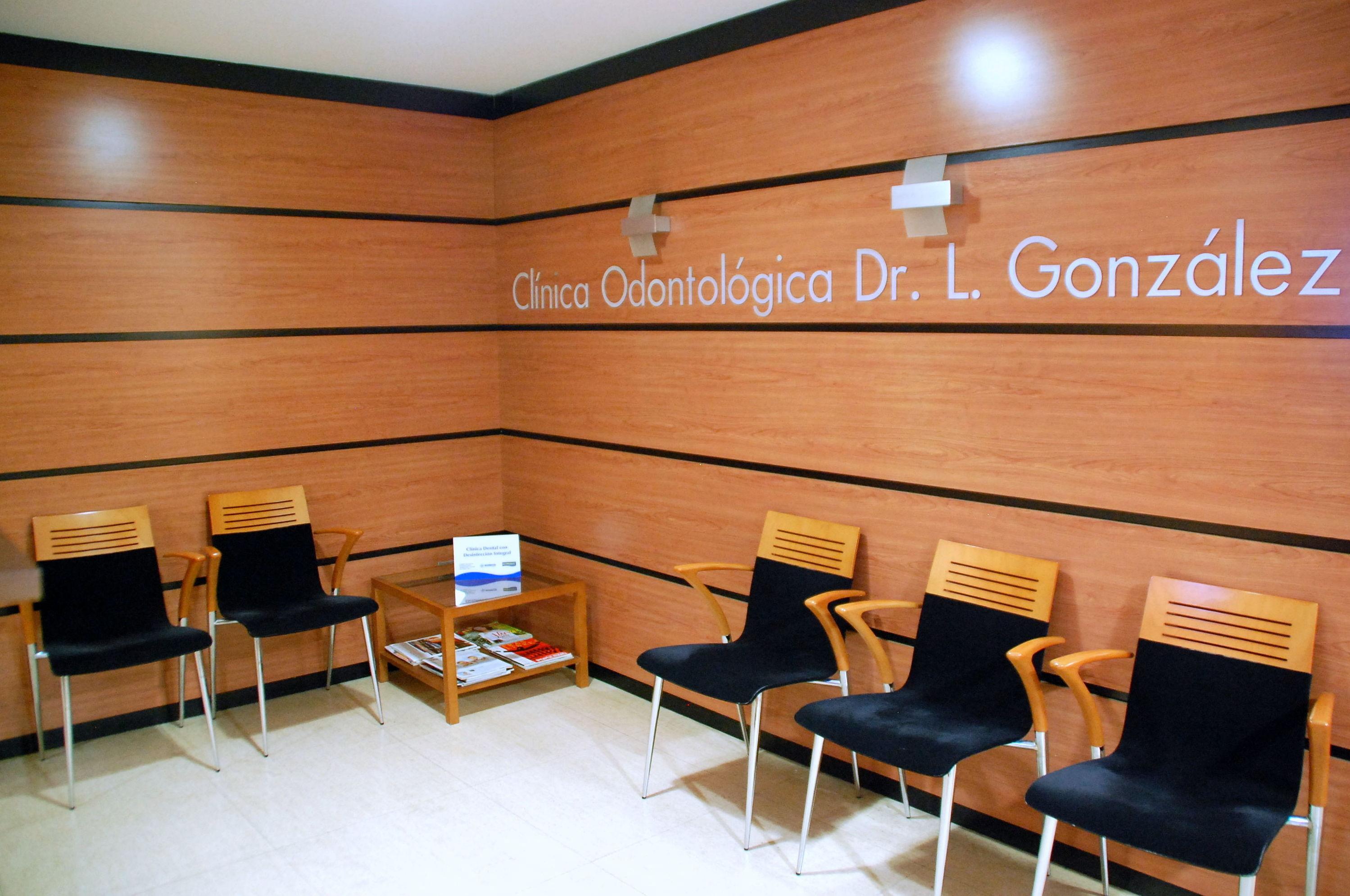 Sala de espera de la clínica dental en Valencia