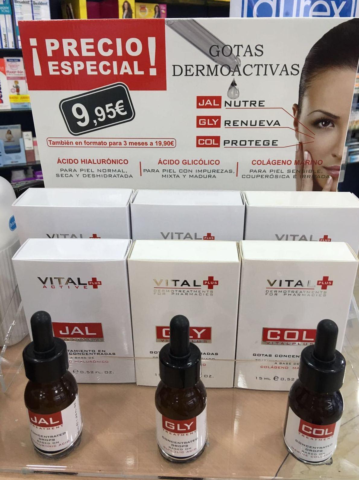 Gotas dermoactivas JAL: Productos y Promociones de Farmacia Lucía