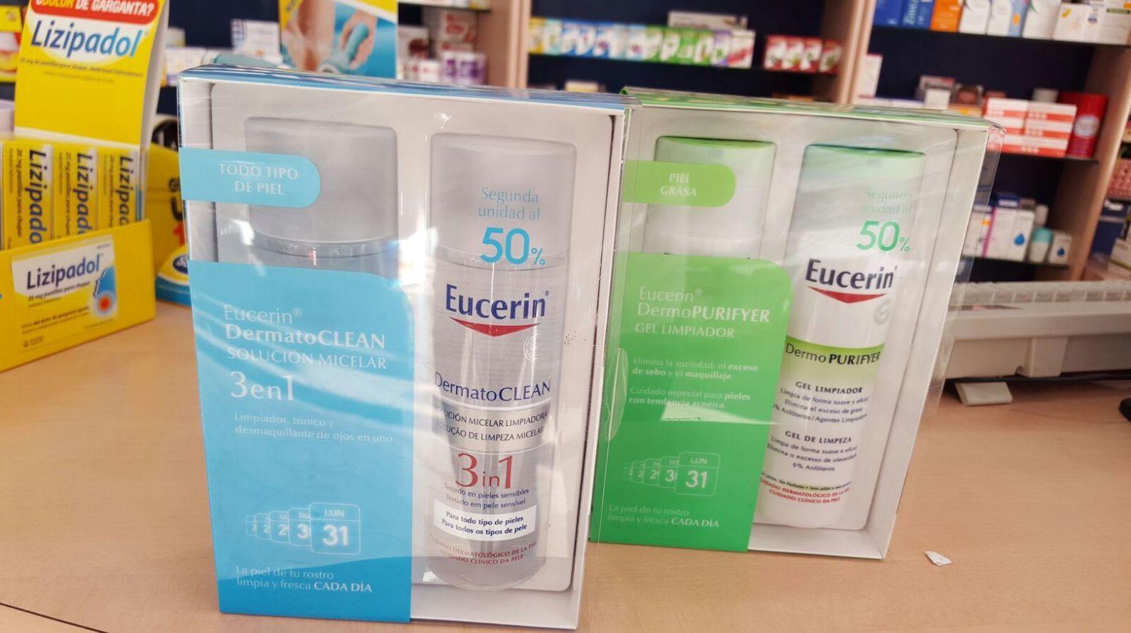 Eucerin DermatoClean 3 en 1 y Eucerin purifyer : Productos y Promociones de Farmacia Lucía