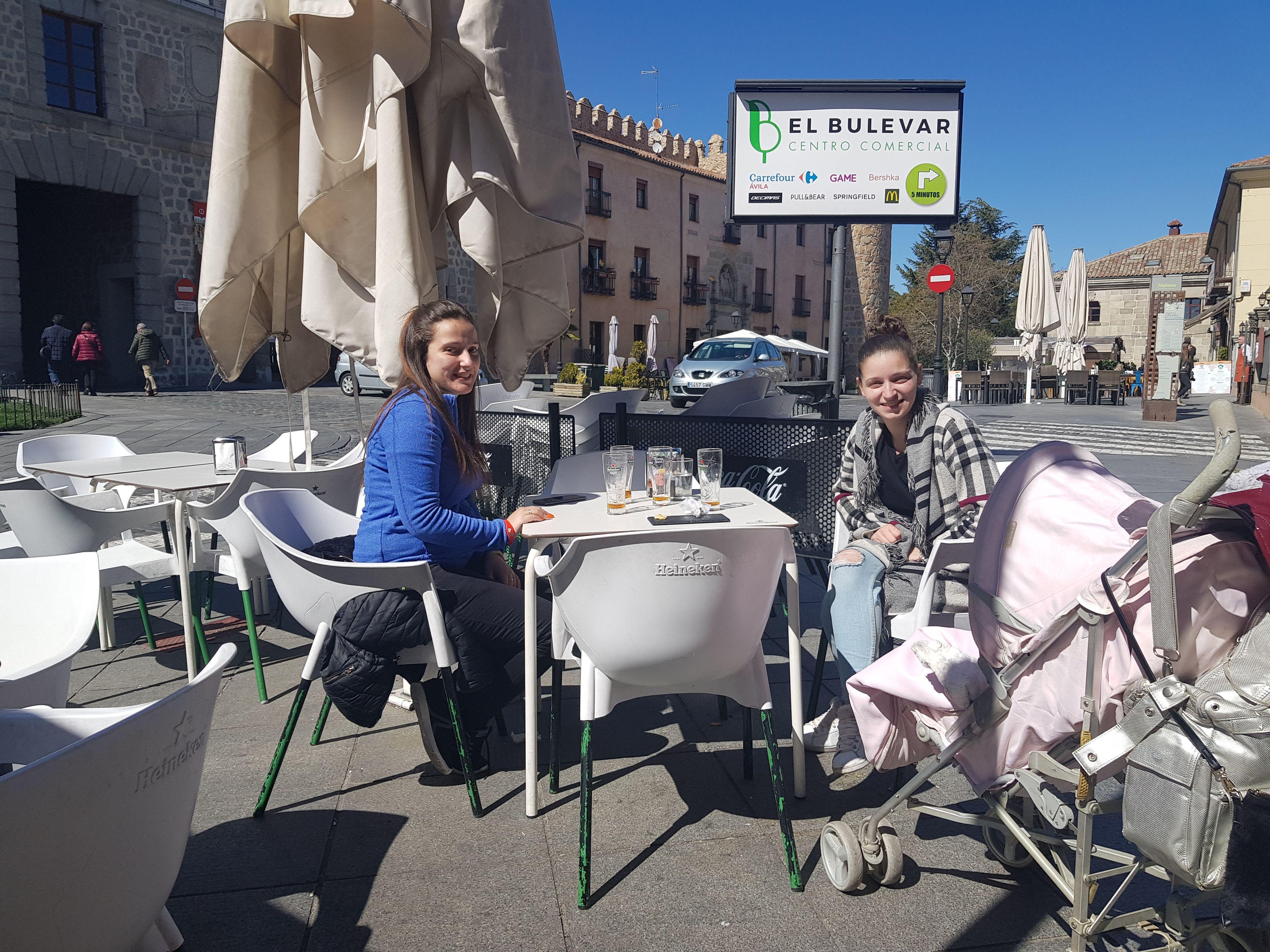 Restaurante con terraza en Ávila