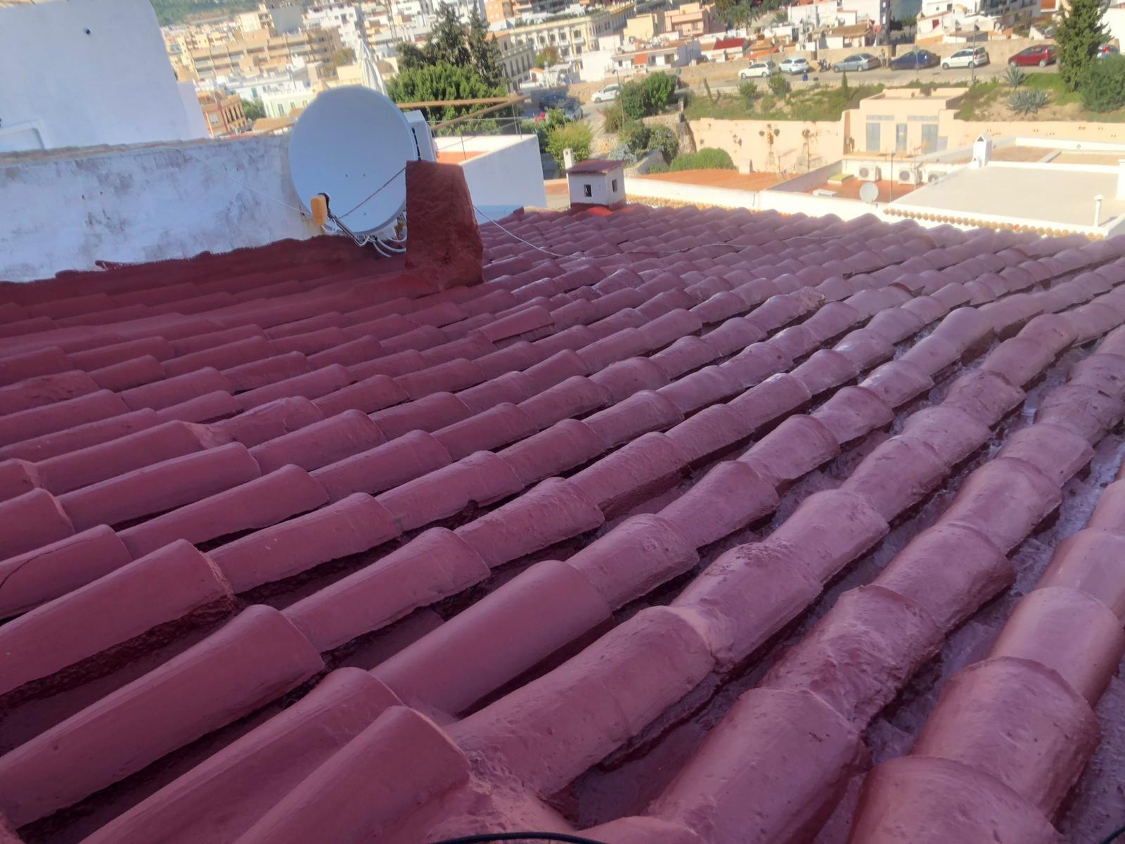 Reparación de goteras Ibiza