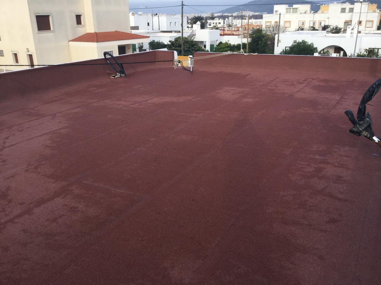 Impermeabilizaciones, aislamientos y reparación de goteras Ibiza