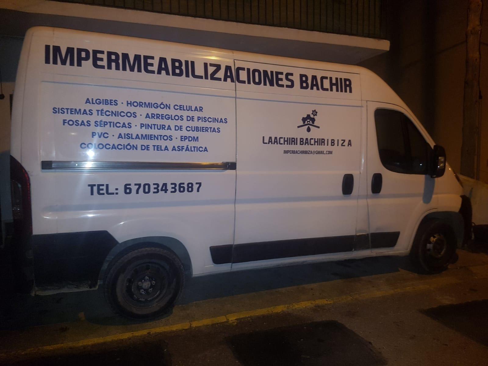 Foto 4 de Cubiertas y tejados en Sant Antoni de Portmany | Impermeabilizaciones Laachiri Bachir Ibiza