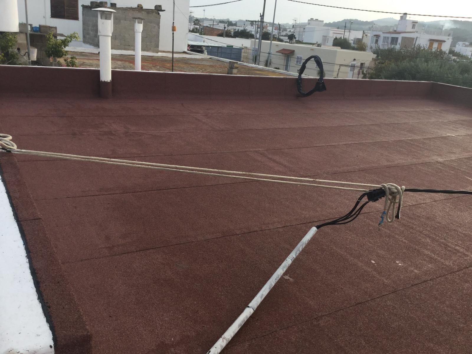 Mantenimiento de cubiertas y tejado