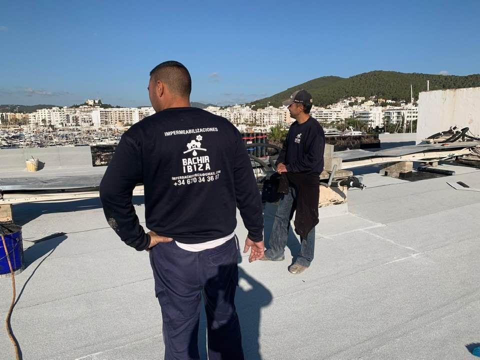 Reparación de cubiertas y tejados Ibiza