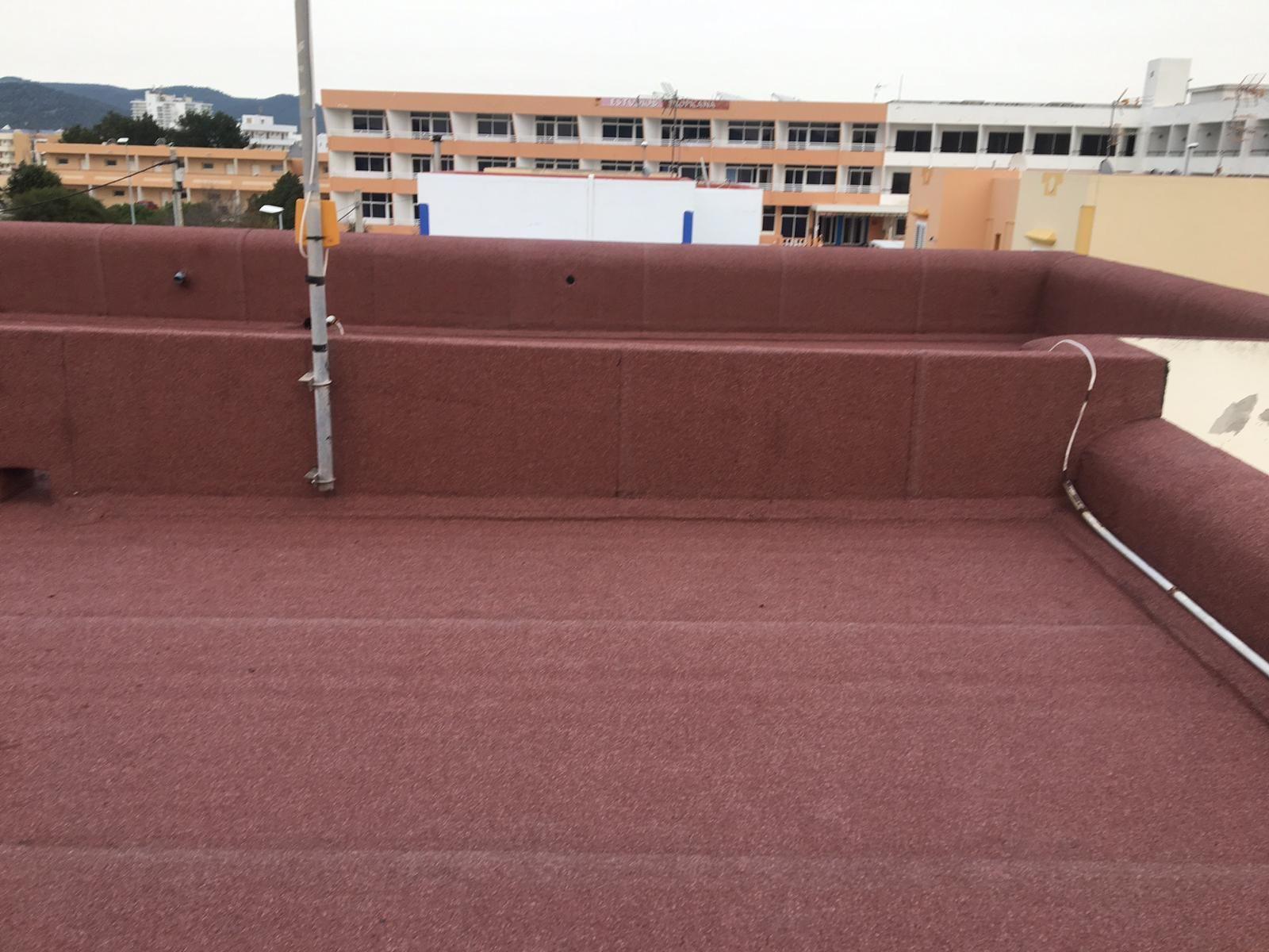 Foto 16 de Cubiertas y tejados en Sant Antoni de Portmany | Impermeabilizaciones Laachiri Bachir Ibiza