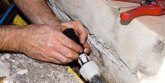 Reparación de fugas de agua y humedades