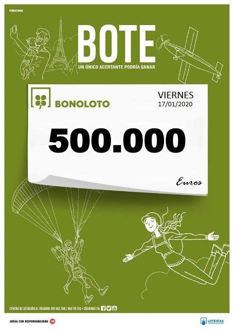 Sorteo Viernes 17/01/2020