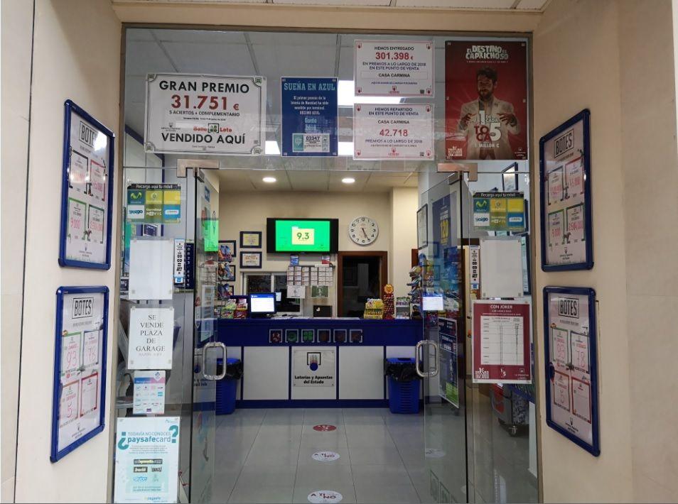 Administración de lotería en Xàtiva