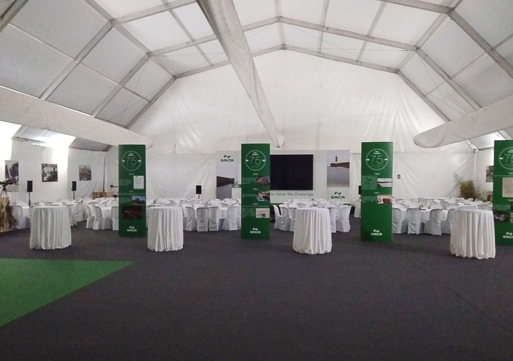 Carpas para eventos de empresas Málaga