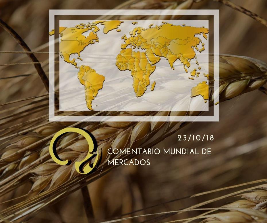 Informe internacional de mercados 23.10.18