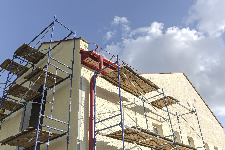 Restauración de fachadas: Servicios de Construcciones y Reformas Esjepari, S. L. L.