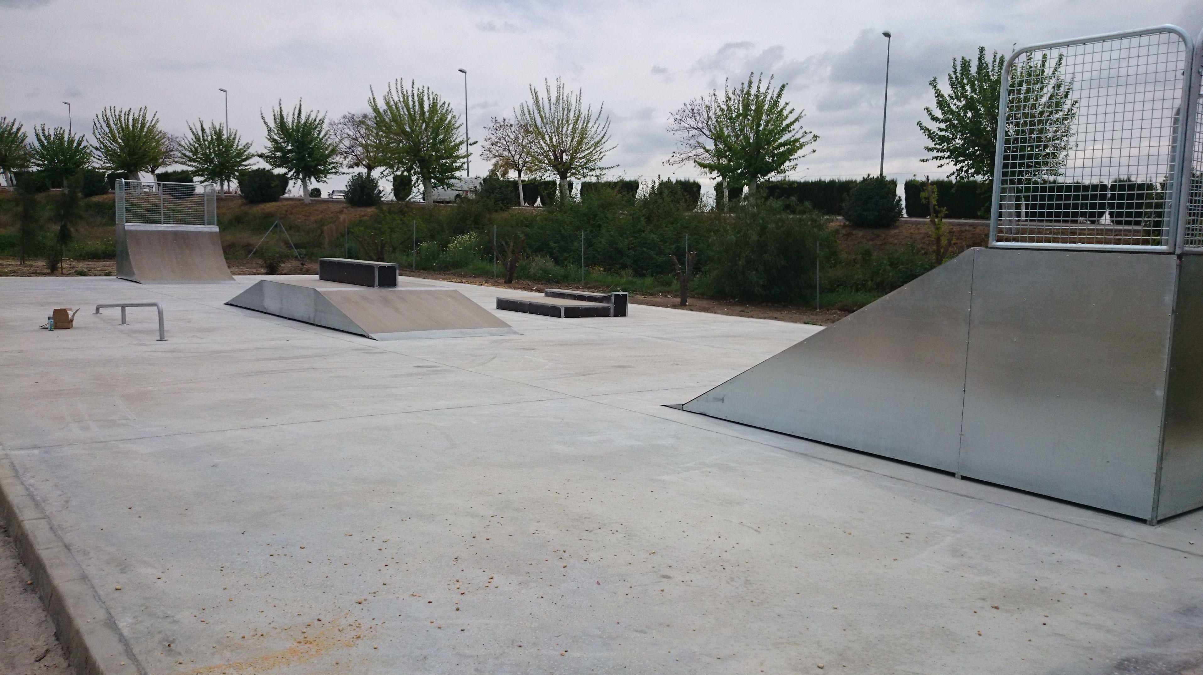 Foto 1 de Skate en Amorebieta | Transformers Skateparks