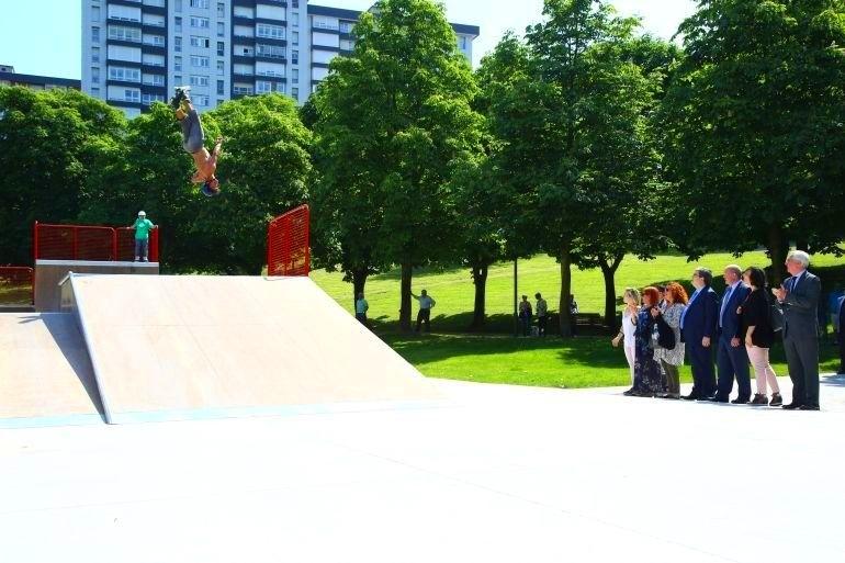 Foto 3 de Skate en Amorebieta | Transformers Skateparks