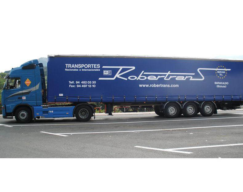 Transportes internacionales por carretera en Vizcaya