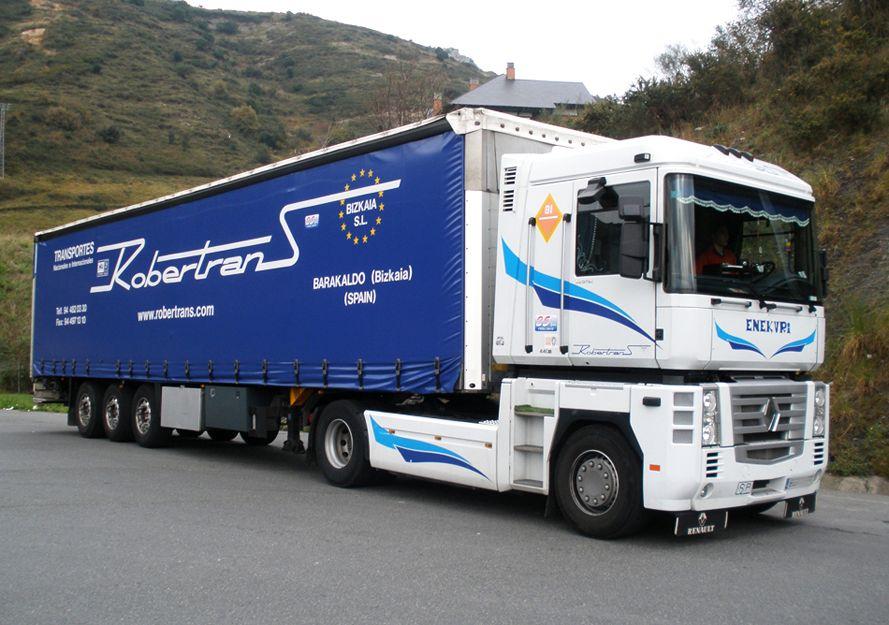 Transportes por carretera en Vizcaya